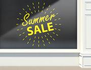 Aufkleber Summer Sale Light Ball