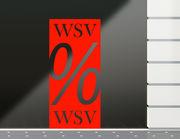 Aufkleber WSV Banner