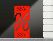 Aufkleber SSV Banner