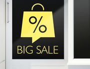 Aufkleber Big Sale Bag