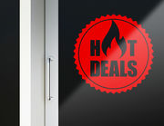Aufkleber Hot Deals