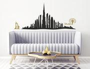 Wandtattoo Skyline Dubai