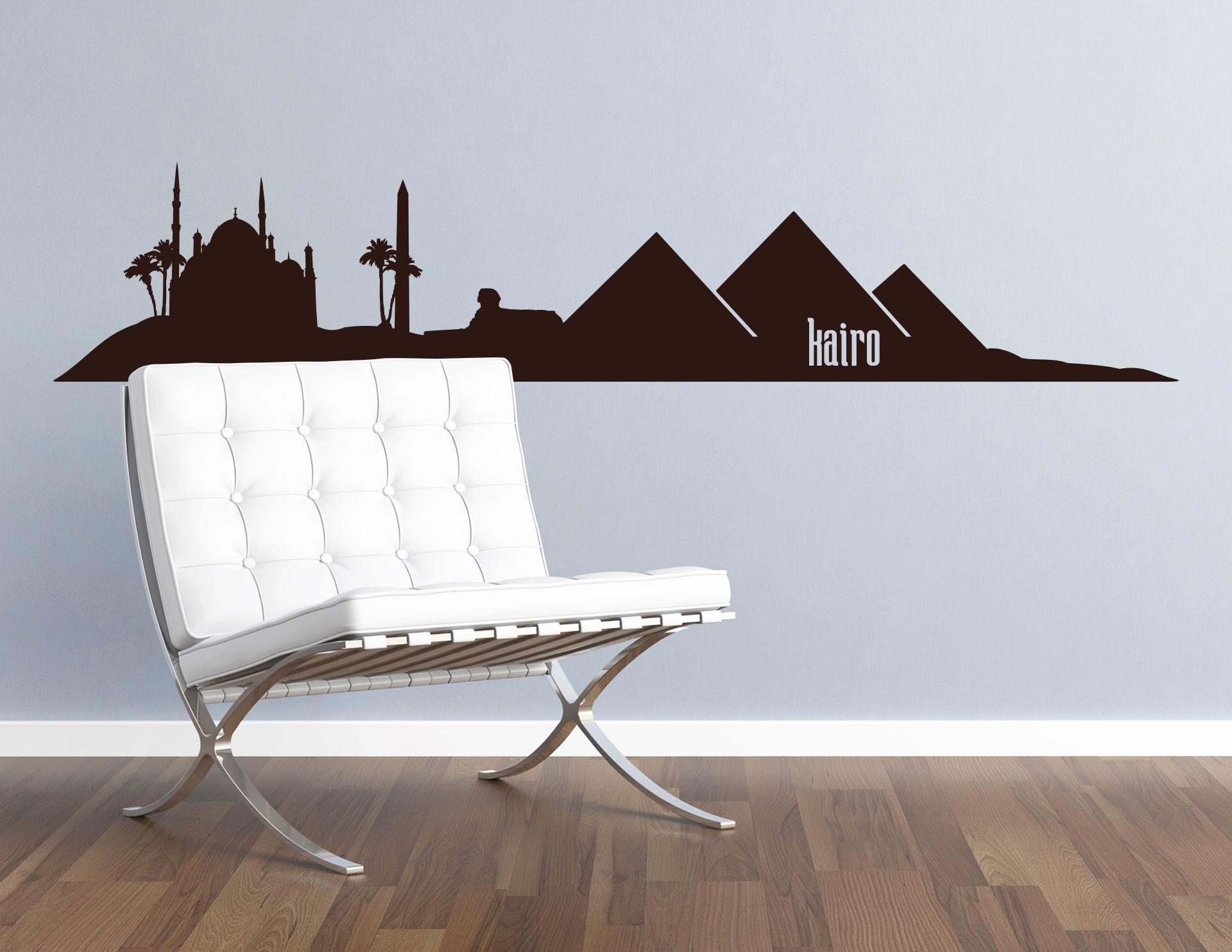 Wandtattoo Skyline Kairo