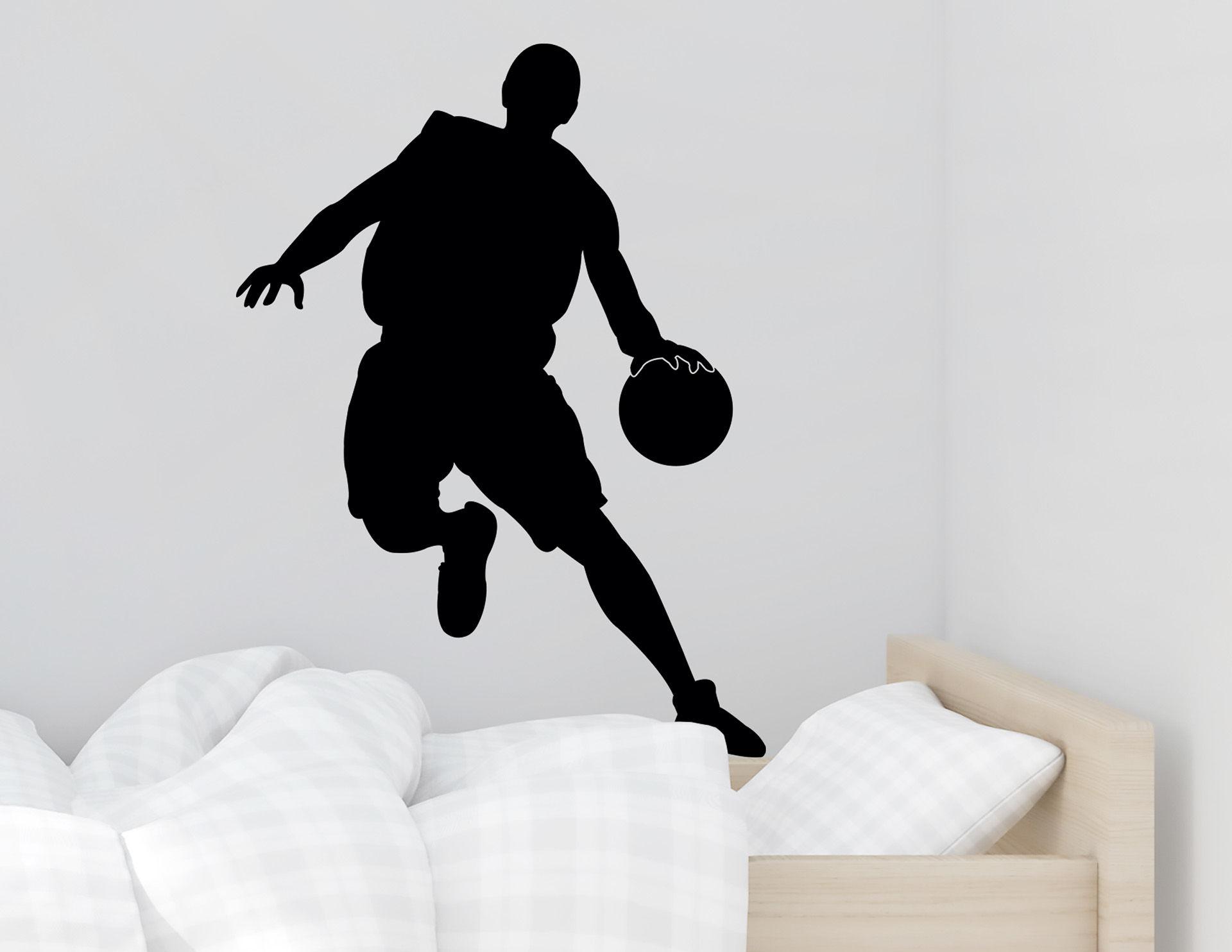 Wandtattoo Basketballer #1
