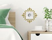Wandtattoo Blüten-Ornament für Lichtschalter und Steckdose