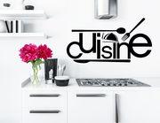 """Wandtattoo """"Cuisine"""" verschönert jede Küche"""
