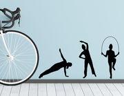 Wandtattoo Gymnastik #2