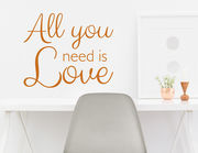 Wandtattoo Is it Love für echte Romantiker.