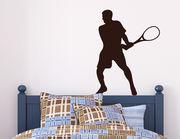 Wandtattoo Tennis Return