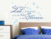 """Wandtattoo """"Zeit zu Träumen"""" für ruhigen Schlaf"""