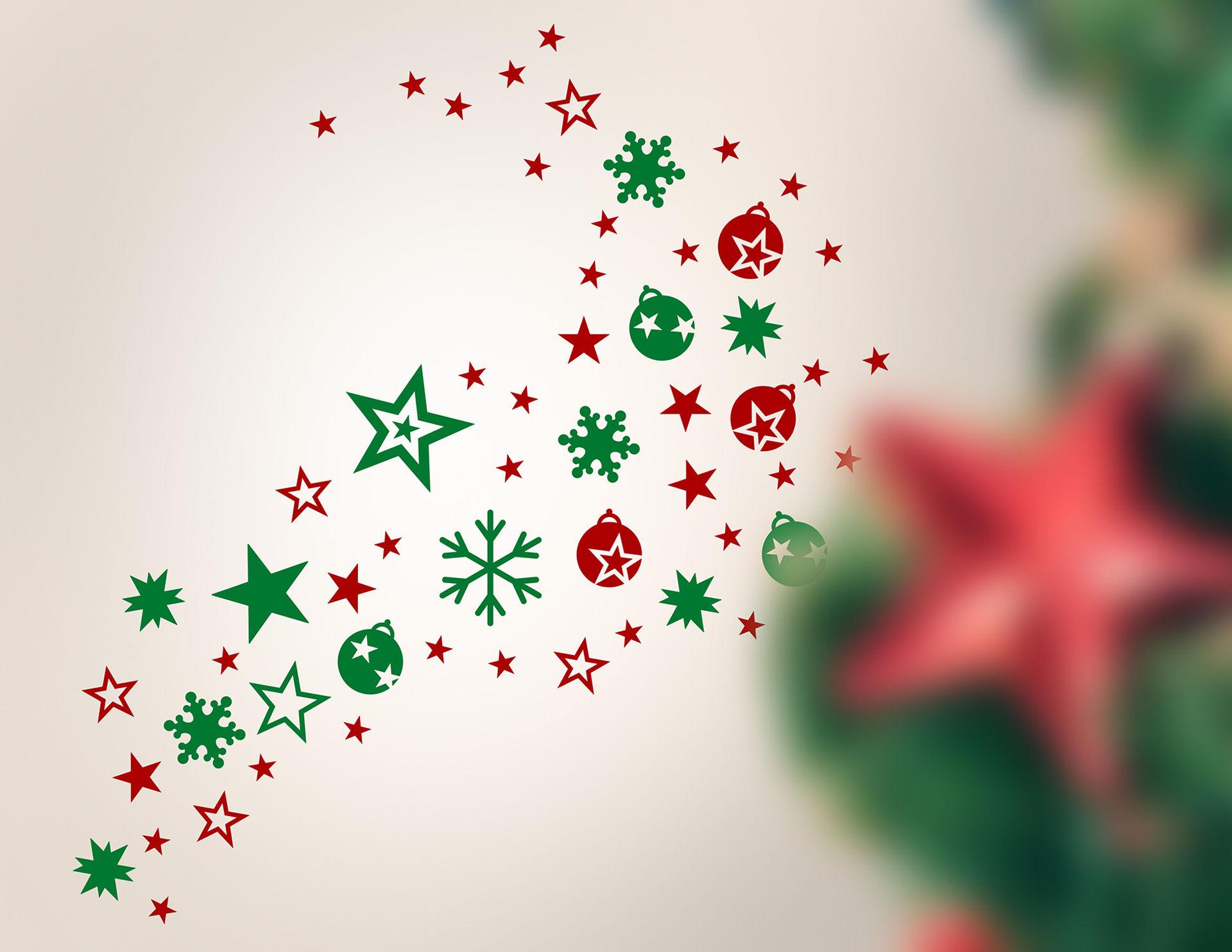 Wandtattoo Weihnachtszauber