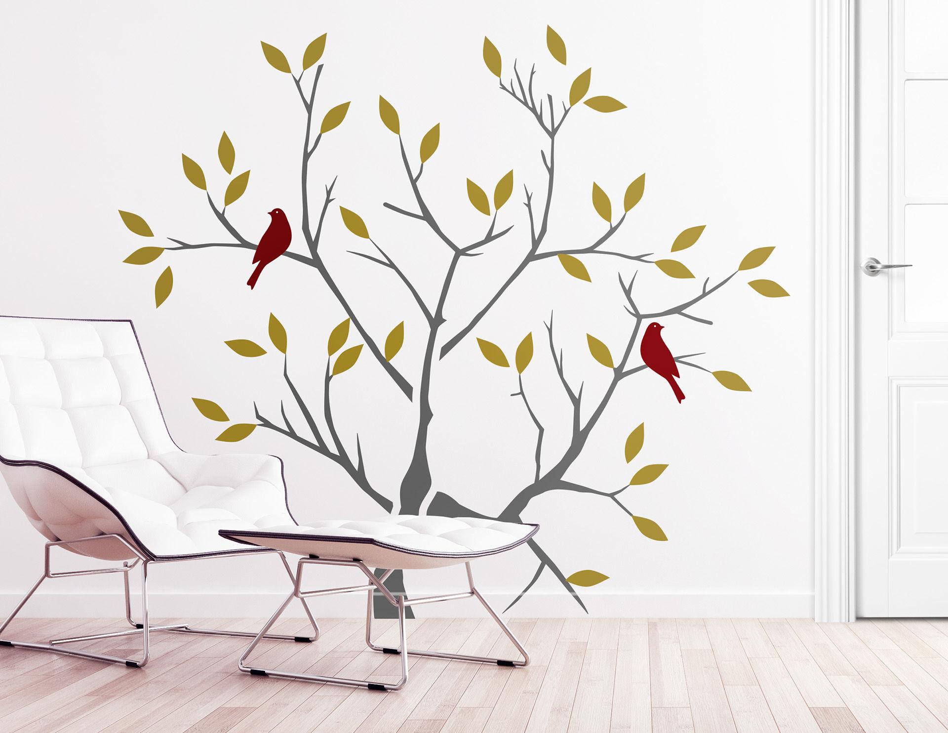 Wandtattoo Herbstbaum Fur Ein Naturliches Flair
