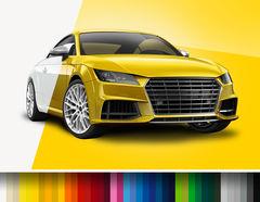 Car Wrapping Autofolie farbig glänzend