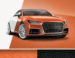 Car Wrapping Effekt-Autofolie glänzend