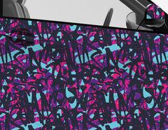 Car Wrapping Autofolie Graffiti Eccentrico