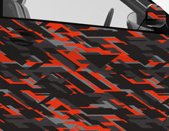 Car Wrapping Autofolie Vulcano Camo