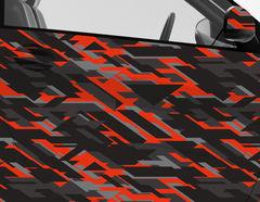 Car Wrapping Autofolie Vulcano Camo