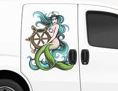 Autoaufkleber Meerjungfrau Shelia