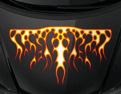 Autoaufkleber Blazing Fire