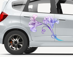 Autoaufkleber Lilien Sinfonie
