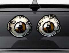 Autoaufkleber Zombie Eyeballs