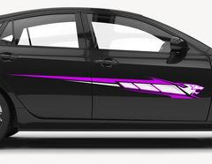 Autoaufkleber Purple Panther Decal