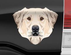 Autoaufkleber Labrador Retriever Maxwell