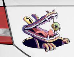 Autoaufkleber Alligator Hektor