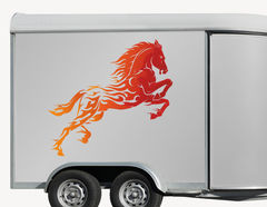 Autoaufkleber Pferd Artax