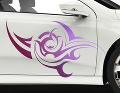 Autoaufkleber Tribal Lilac