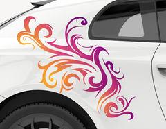 Autoaufkleber Tribal Aurora