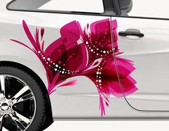 Autoaufkleber Blume Eden