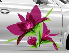 Autoaufkleber Blume Cassia