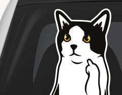 Autoaufkleber FU Cat