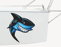 Bootsaufkleber Haifisch Chucky