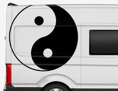 Autoaufkleber Yin und Yang