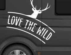 Autoaufkleber Love the Wild