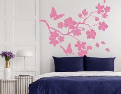 Wandtattoo Kirschblütenzweig Hanami