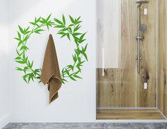 """Wandtattoo """"Bambus Kranz Li-Ming"""": Asia-Flair für die Wand"""