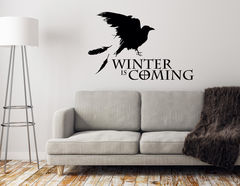 "Wandtattoo ""Winter is Coming"", denn der Winter naht!"