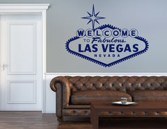 "Wandtattoo ""Welcome to Las Vegas"" für amerikanisches Flair"