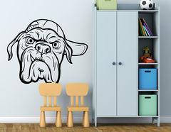 Wandtattoo Bulldogge Marshall
