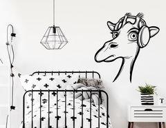 Wandtattoo Friederike die Giraffe