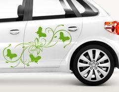 Autoaufkleber Blütenranke Lilia