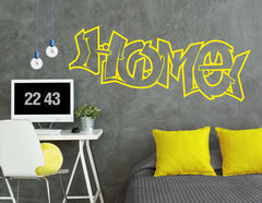 "Wandtattoo ""Home Graffiti"": Cooles Bombing für Urban-Flair"