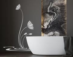 Wandtattoo Wasserlilien Misaki