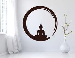 """Wandtattoo """"Ensō Buddha"""": Asia Feeling für Dein Zuhaus'"""
