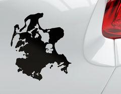 """Autoaufkleber """"Rügen"""": Ostsee-Ferieninsel hoch im Norden"""