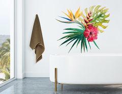 Wandtattoo Tropical Bouquet