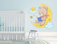 Wandtattoo Gute Nacht-Teddy Timmy